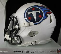 TENNESSEE TITANS Full Size AUTHENTIC SPEED Helmet - With VIS
