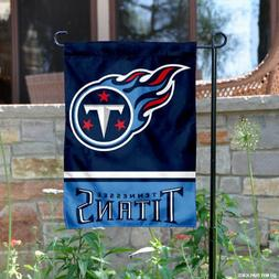 Tennessee Titans Garden Flag and Yard Banner