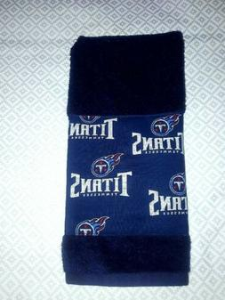 Tennessee Titans Hand Towel Handmade  GREAT GIFT. Good for G