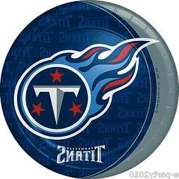 tennessee titans large paper plates 8 football