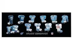 Tennessee Titans Legacy Uniform Plaque