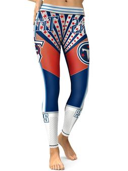 Tennessee Titans Leggings Small-XXL  Football Fan Gift Game
