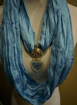 Tennessee Titans  Licensed  Pendant on a Blue infinity team