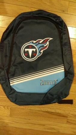 Tennessee Titans Logo Action BackPack School Bag New Back pa