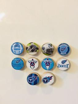 Tennessee Titans Magnets - Set Of 10 - FREE SHIPPING
