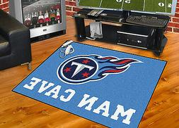 "Tennessee Titans Man Cave 34""x43"" All-Star Area Rug Mat"