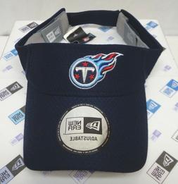 Tennessee Titans Men's New Era Adjustable Visor Hat