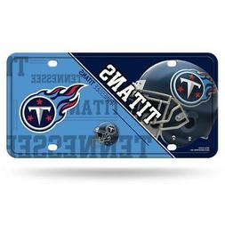 Tennessee Titans Metal License Plate  NFL Tag Auto Truck Car