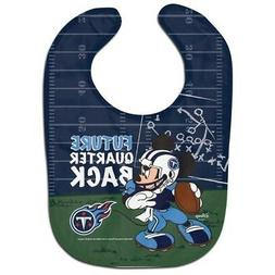 TENNESSEE TITANS MICKEY MOUSE BABY BIB DISNEY NFL OFFICIALLY