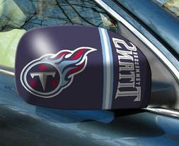 Tennessee Titans Mirror Cover 2 Pack - Small Size  NFL Car A