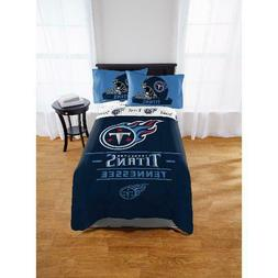 NFL Tennessee Titans Monument Twin & Full Comforter Set