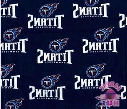Tennessee Titans NFL 100% Cotton Fabric 6037 D