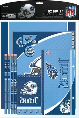 tennessee titans nfl 11 piece stationery set