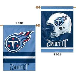 Tennessee Titans Wincraft NFL 28x40 2 Sided Banner/Vertical