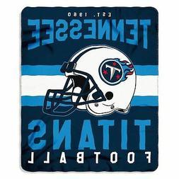 """Tennessee Titans NFL Northwest 50""""x60"""" Singular Soft Fleece"""