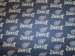 "TENNESSEE TITANS  NFL  58""  WIDE - 100%  COTTON  NEW "" 1/2"