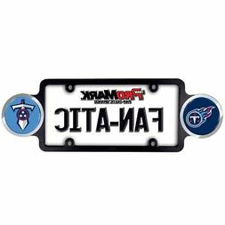 Tennessee Titans NFL Automotive License Plate Frame with Tea