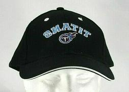 Tennessee Titans NFL Black Baseball Cap Adjustable