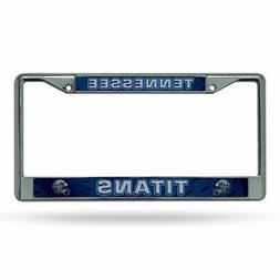 Tennessee Titans NFL Chrome Metal License Plate Frame