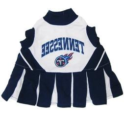 Pets First Tennessee Titans NFL Dog Cheerleader Outfit - Ext