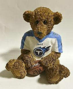 Tennessee Titans NFL Football Ceramic Mini Teddy Bear Figuri
