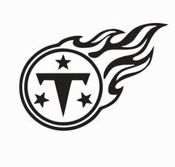 Tennessee Titans NFL Football Vinyl Die Cut Car Decal Sticke