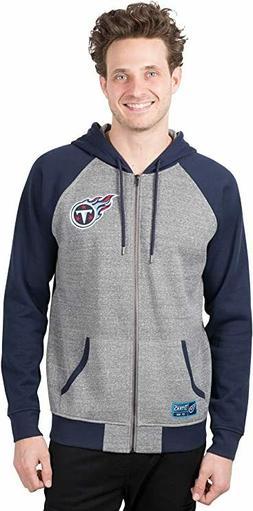 Tennessee Titans NFL FULL-ZIP Hoodie Jacket Coat  Men's  M