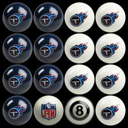 Tennessee Titans NFL Home vs. Away Billiard Balls Full Set