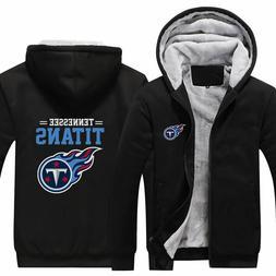 Tennessee Titans NFL Sweater Zipper Thicken Hoodie Unisex Ja