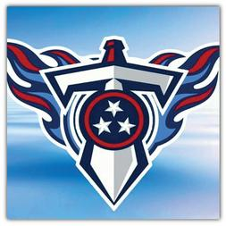 Tennessee Titans NFL Sword Car Bumper Sticker Decal - 3'' or