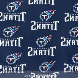 """Tennessee Titans NFL Valance Curtains/Panels Choose: 40"""", 52"""