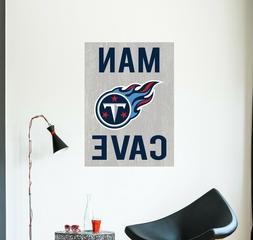 Tennessee Titans NFL Wall Decal Vinyl Sport Logo Design Man