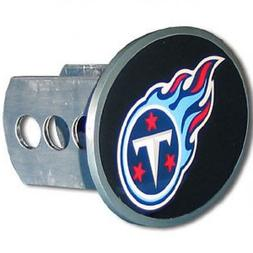 Tennessee Titans Oval Metal Trailer Hitch Cover