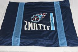 Tennessee Titans Pillow Case Blue Mesh NFL Football Pillowca