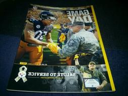 TENNESSEE TITANS @ PITTSBURGH STEELERS GAMEDAY MAGAZINE PROG