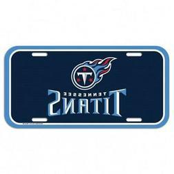 Tennessee Titans Plastic License Plate  NFL Tag Auto Car Tru