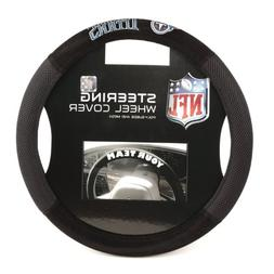Tennessee Titans Poly-Suede Steering Wheel Cover