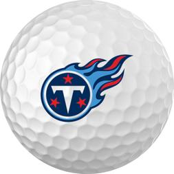 Tennessee Titans Titleist ProV1 Refinished NFL Golf Balls 12