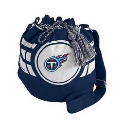 Tennessee Titans Ripple Drawstring Bucket Style Bag  Laundry
