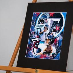Tennessee Titans - Ryan Tannehill #17 - Custom Artwork Avail
