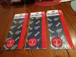 TENNESSEE TITANS Sealed 3 Pack NFL Wrapping Paper 36.5 Sq Ft