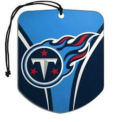 Tennessee Titans Shield Design Air Freshener 2 Pack  NFL Fre