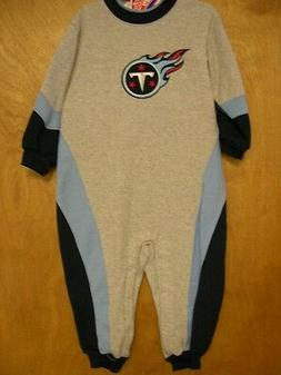 TENNESSEE TITANS SLEEPER One Piece COTTON/POLY  NWT
