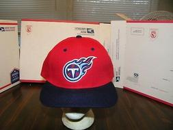 TENNESSEE TITANS SNAP BACK TEAM NFL DREW PEARSON EMBROIDERD