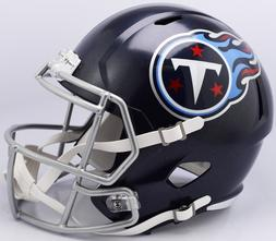 RIDDELL TENNESSEE TITANS SPEED FULL SIZE DELUXE REPLICA FOOT