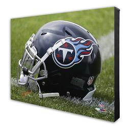 Photo File Tennessee Titans Team Helmet Canvas Print Picture