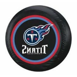 Tennessee Titans Tire Cover Large Size Black