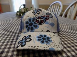 NFL Team Apparel Tennessee Titans Toddler Blue Floral Ball C