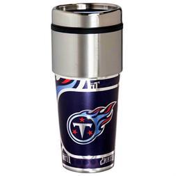 Tennessee Titans Tumbler 16oz Stainless Steel Travel Mug Log