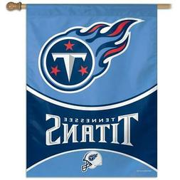 tennessee titans vertical outdoor house flag